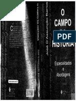 BARROS, José D'Assunção - O campo da História.pdf