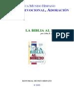 Bmh- La Biblia Al Minuto