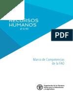 Marco de Competencias de la FAO