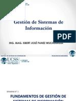 1raSemana GestionSistemasInformacion Clases