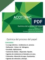 Química Del Proceso Del Papel - Ing. Patricio Gómez