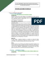 ESPECIFICACIONES TECNICAS amacclle
