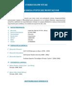 Curriculum Vitae Botica