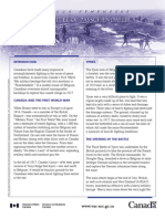 Battle of Passchendaele - Gov't of Canada