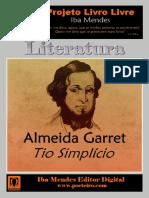 Tio Simplicio - Almeida Garret