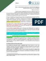 Apuntes Sobre La Implementación Del Concepto de Piso de Protección Social en Colombia