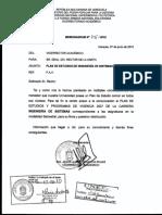 Pack de Pensum y Programas ING de SISTEMAS
