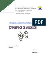 Catalizador Wilkinson