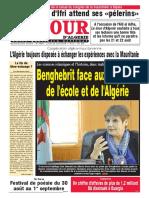 Journal Le Jour d Algerie Du 20.08.2018