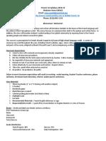 fr1a syllabus 2018-2019