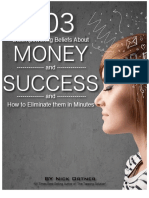 103 Disempowering Beliefs About Money and Success eBook In