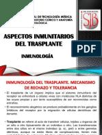 Aspectos Inmunitarios Del Trasplante