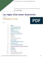 Méthodologie de La Dissertation… Tous Niveaux… _ Espace Pédagogique Contributif 2