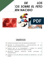Efectos de Los Farmacos Sobre Feto y RN