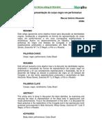 Artigo Formas de Representacão doCorpo Negro