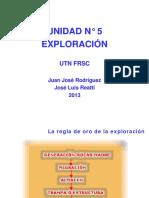 UNIDAD N° 5 - Exploración