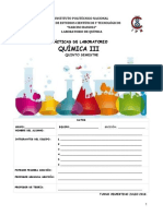 Quimica III TV 2018 Manual