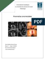 anomalias anorrectales