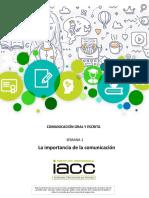 IACC - Comunicacion Oral y Escrita