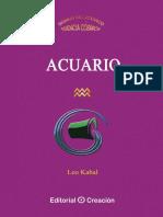 Acuario (Spanish Edition) - Leo Kabal