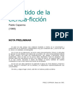 Capanna Pablo - El Sentido De La Ciencia Ficcion [doc].doc