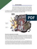 MOTOR DIESEL y Turbocompresor