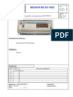 ETAPE 2 _ Sauvegarder Un Programme API (TSX17)