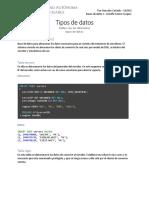 Servers Database Example
