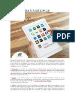 17 Apps Para Maestros 3.0