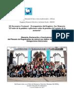 Conclusiones III Encuentro Mecis