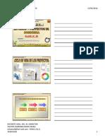 Proyectos Ciclo Vida Proyecto Diapositivas