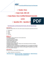 200-125 Exam Dumps With PDF and VCE Download (301-350)