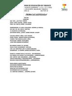 Poema de Despedida