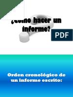 cc3b3mo-hacer-un-informe.ppt