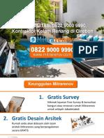 BERKUALITAS, 0822 9000 9990, Kontraktor Kolam Renang Di Cirebon