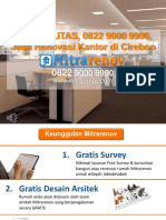 BERKUALITAS, 0822 9000 9990, Jasa Renovasi Kantor Di Cirebon