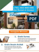 BERKUALITAS, 0822 9000 9990, Jasa Arsitek Rumah Di Cirebon