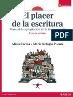 El Placer de La Escritura Alicia Correa Perezpdf