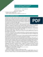 Determinación de Unidades Homogeneas de Vegetación en El Predelta