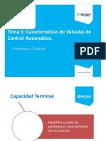 S01. Características Válvula de Control1