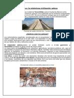 Textos sobre los aztecas