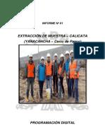 INFORME CALICATA_N°1