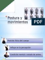 Español Postura y Moovimeintos