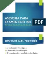Asesoria Para Examen Egel 2017