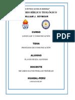 Modelo de Procesos de Comunicación