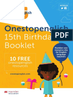 OSE Birthday Booklet