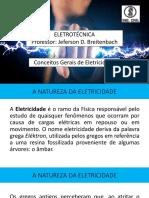 Apresentação Aula 01 - Eletrotécnica