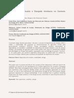 Experiência Do Usuário e Designde Interfaces No Contexto Universitário