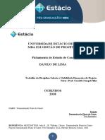 Estudo de Caso Gerenciamento de Projetos - Demonstração de Fluxo de Caixa - 3 Exemplos