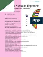 Intensiva Kurso de Esperanto Enkonduko Portugala